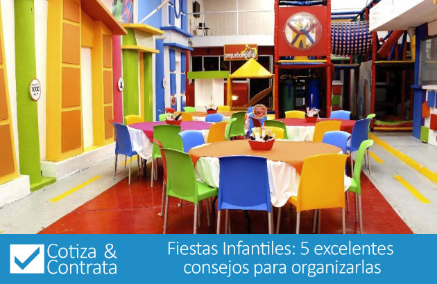 Fiestas Infantiles: 5 excelentes consejos para organizarlas