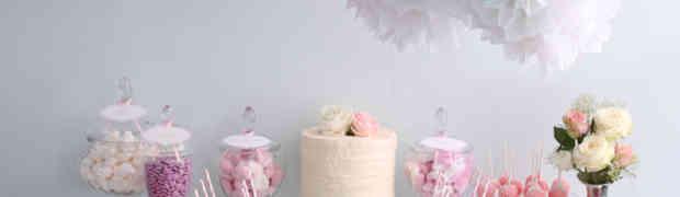 Mesas de dulces para baby shower